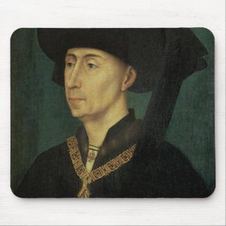 Portrait of Philip the Good  Duke of Burgundy Mouse Pad