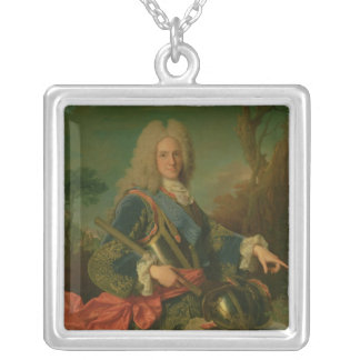 Portrait of Philip V Silver Plated Necklace