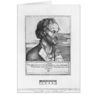 Portrait of Philipp Melanchthon, 1526 Card
