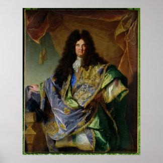 Portrait of Philippe de Courcillon  Marquis Poster