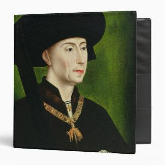 Portrait of Philippe le Bon  Duc de Bourgogne Vinyl Binder