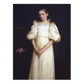 Portrait of Phyllis Waterlow by John Waterhouse Postcard