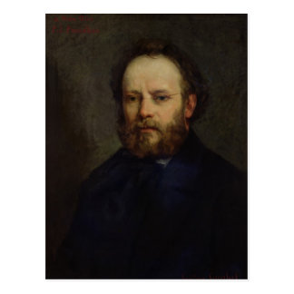 Portrait of Pierre Joseph Proudhon  1865 Postcard