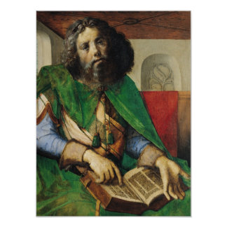 Portrait of Plato  c.1475 Poster