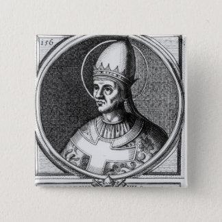 Portrait of Pope Gregory VII 2 Inch Square Button