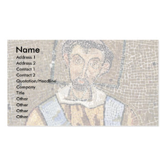 Portrait Of Pope John Vii Business Card Template