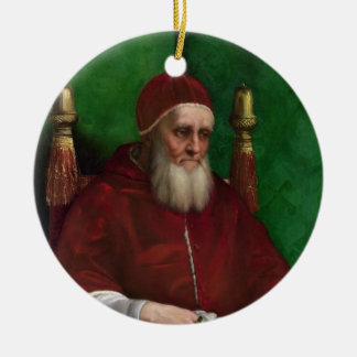 Portrait of Pope Julius II by Raphael Ornament