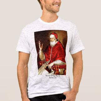 Portrait Of Pope Pius V. By Greco El T-Shirt