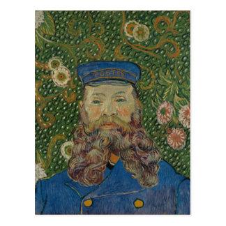 Portrait of Postman Joseph Roulin by Van Gogh Postcard