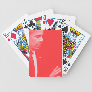 Portrait of President Barack Obama 38c Bicycle Playing Cards