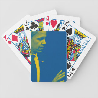 Portrait of President Barack Obama 38d Bicycle Playing Cards