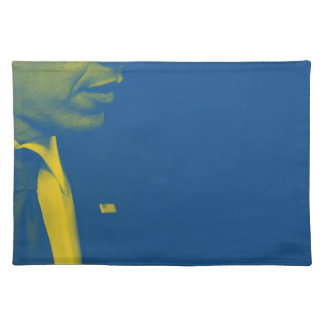 Portrait of President Barack Obama 38d Placemat
