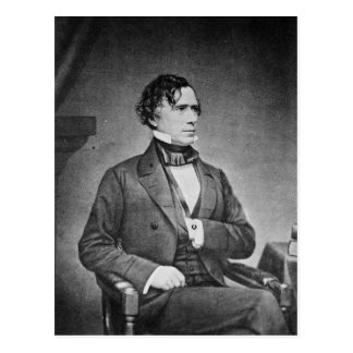 Portrait of President Franklin Pierce by M Brady Postcard
