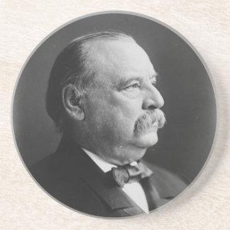 Portrait of President Stephen Grover Cleveland Coaster