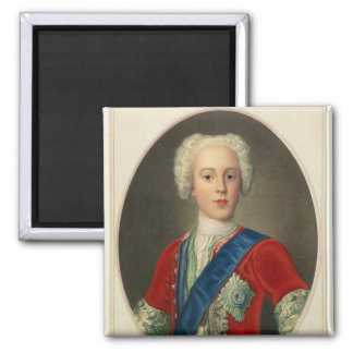 Portrait of Prince Charles Edward Magnet
