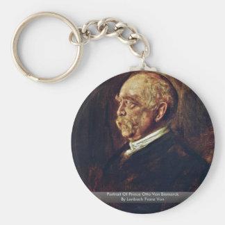 Portrait Of Prince Otto Von Bismarck Keychain