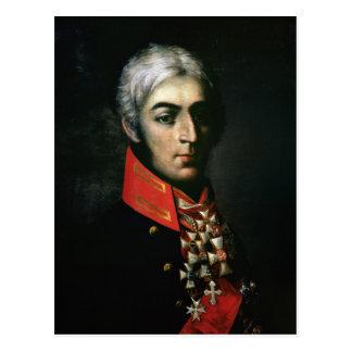 Portrait of Prince Peter Bagration Postcard