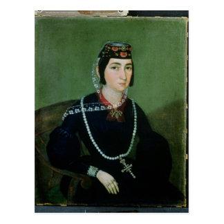 Portrait of Princess Salome Chavchavadze Postcard