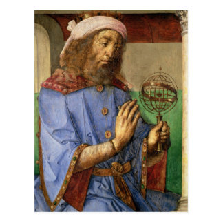 Portrait of Ptolemy, c.1475 Postcard