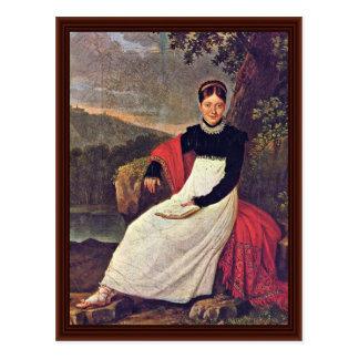 Portrait Of Queen Caroline Postcard