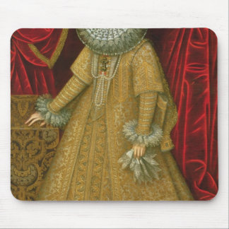 Portrait of Queen Isabel Clara Eugenia Mouse Pad