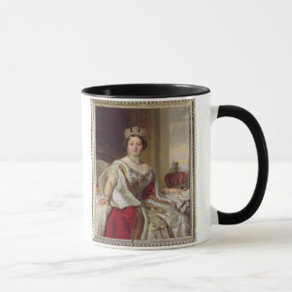 Portrait of Queen Victoria (1819-1901) 1859 (oil o Mug