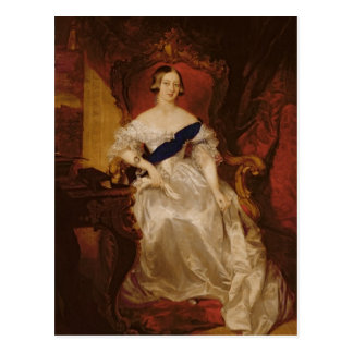 Portrait of Queen Victoria Postcard