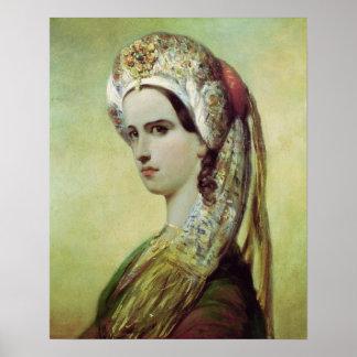 Portrait of Rachel Poster