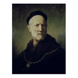 Portrait of Rembrandt's Father Postcard