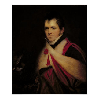 Portrait of Rev. Edward Daniel Clarke  c.1822 Poster