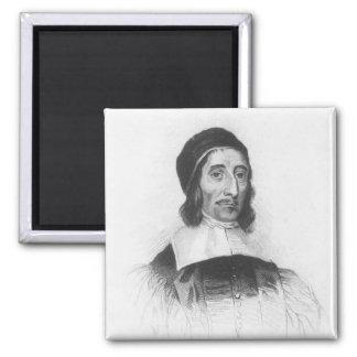 Portrait of Richard Baxter Square Magnet