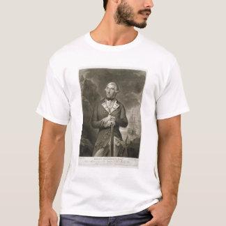 Portrait of Richard Kempenfelt (1718-82) Rear-Admi T-Shirt