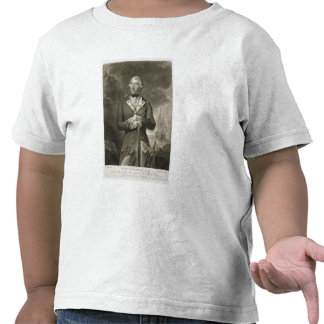 Portrait of Richard Kempenfelt (1718-82) Rear-Admi Shirts
