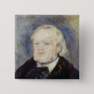 Portrait of Richard Wagner  1882 2 Inch Square Button