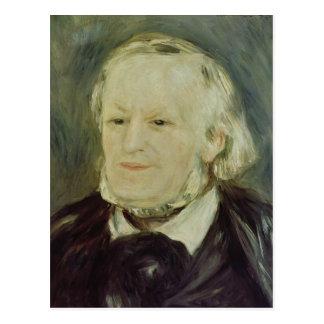 Portrait of Richard Wagner , 1893 Postcard