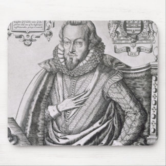 Portrait of Robert Cecil (1563-1612) 1st Earl of S Mouse Pad