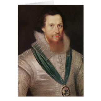 Portrait of Robert Devereux  c.1596 Card