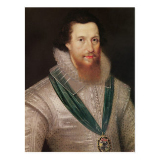 Portrait of Robert Devereux  c.1596 Postcard