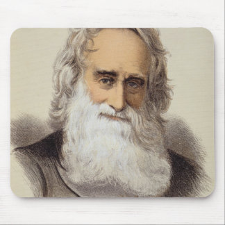 Portrait of Robert Moffat (1795-1883) (colour lith Mouse Pad