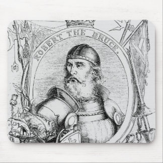 Portrait of Robert the Bruce Mouse Pad