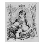Portrait of Robert the Bruce Poster