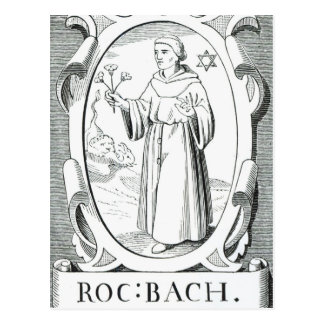 Portrait of Roger Bacon Postcard