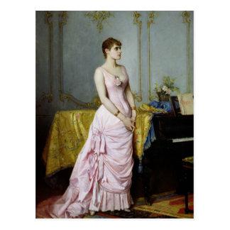 Portrait of Rose Caron  1886 Postcard