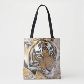 Portrait of Royal Bengal Tiger, Ranthambhor 4 Tote Bag