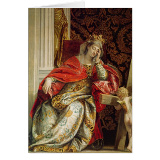 Portrait of Saint Helena Card