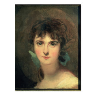 Portrait of Sally Siddons Postcard