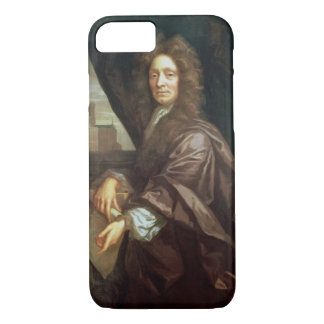 Portrait of Sir Christopher Wren (oil on canvas) iPhone 7 Case