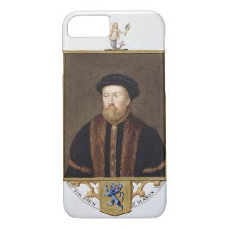 Portrait of Sir John Mason (1503-66) from 'Memoirs iPhone 7 Case