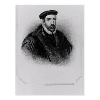 Portrait of Sir Nicholas Bacon Post Cards
