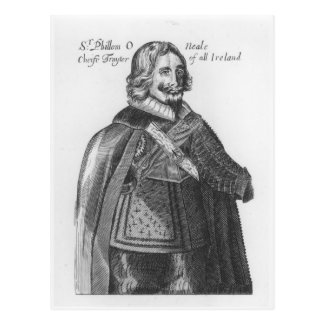 Portrait of Sir Phillom O'Neale Postcard